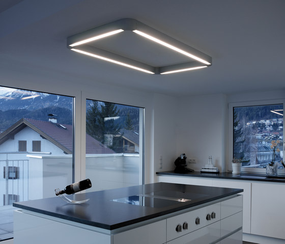 p.series surface light ceiling by planlicht | General lighting