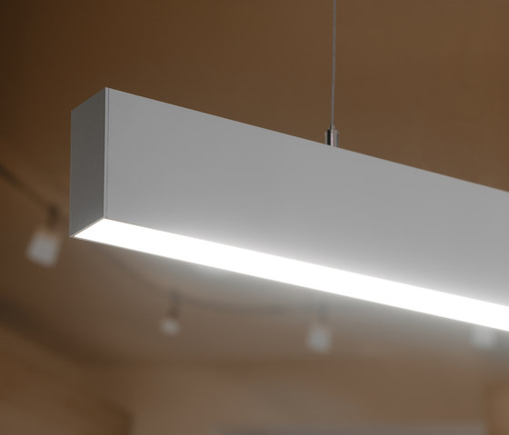 p.series pendant light by planlicht | Pendant strip lights