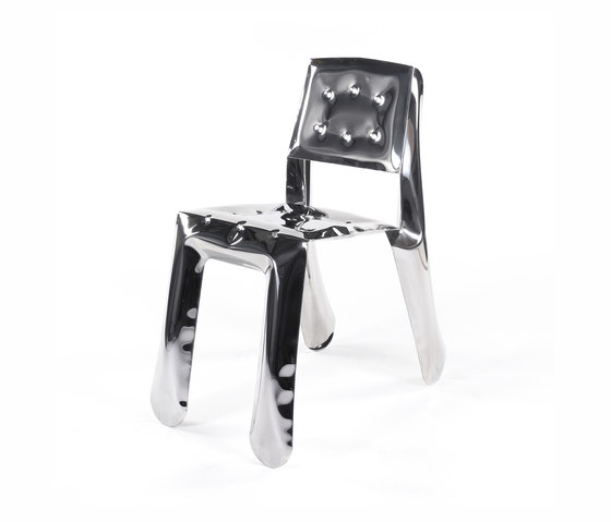 Chippensteel 0.5 | inox steel by Zieta | Visitors chairs / Side chairs