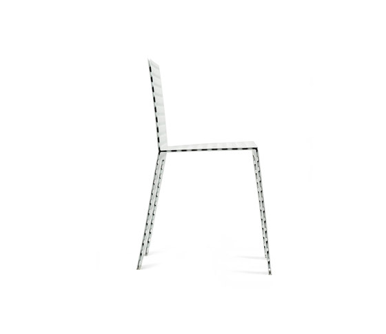 3+ Platte Chair de Zieta | Chaises