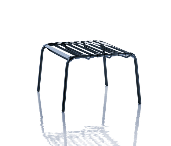 Striped Foot-stool by Magis | Garden stools