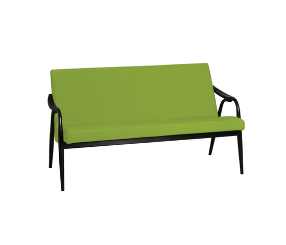 Bruxelles bench by TON | Waiting area benches