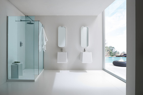 Opus Shower tray and closing by Rexa Design | Shower screens
