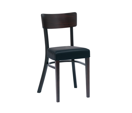 Ideal chair upholstered by TON | Restaurant chairs