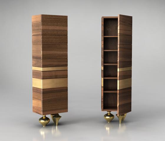 IL PEZZO 1 TALL CABINET by Il Pezzo Mancante | Cabinets