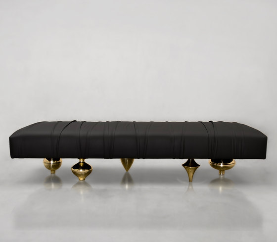 IL PEZZO 1 BENCH by Il Pezzo Mancante | Upholstered benches