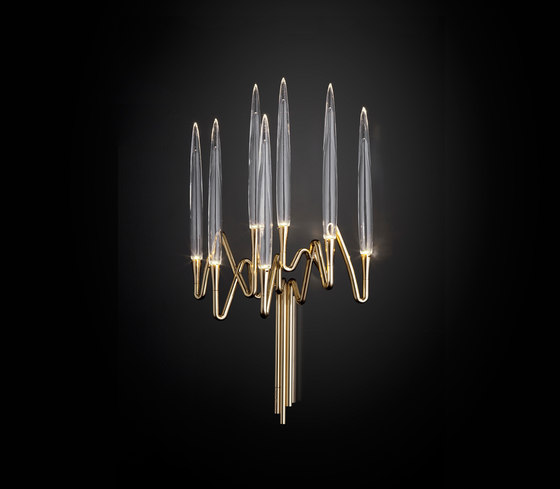 IL PEZZO 3 WALL SCONCE by Il Pezzo Mancante | Wall-mounted chandeliers