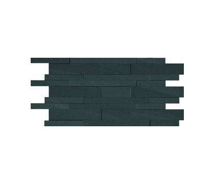 Flow Wall 3D Coal by Caesar | Ceramic mosaics
