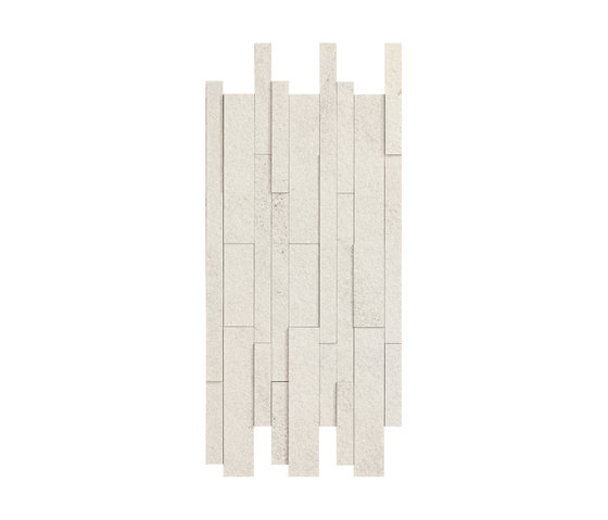 Supreme Wall 3D Milky Quartz by Caesar | Ceramic mosaics