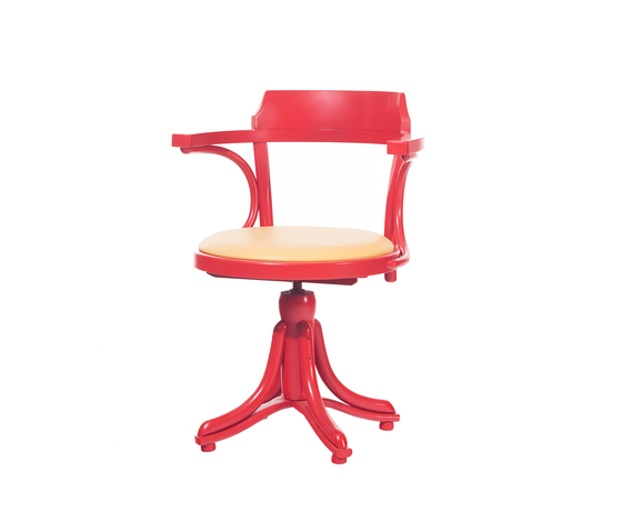 Kontor chair upholstered by TON | Chairs