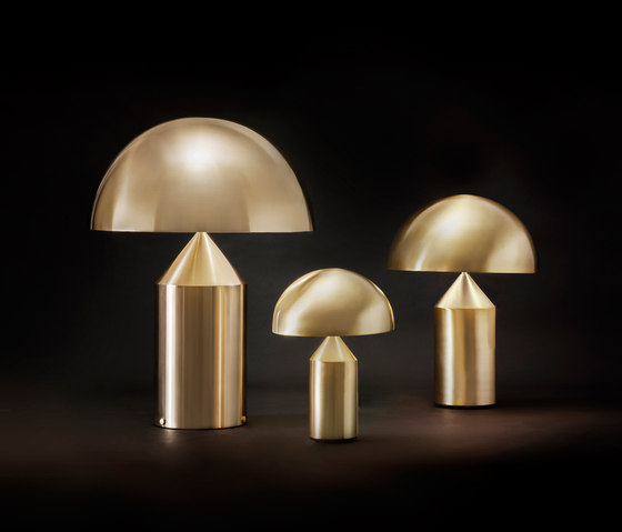 Atollo | 233 238 239 Gold by Oluce | General lighting