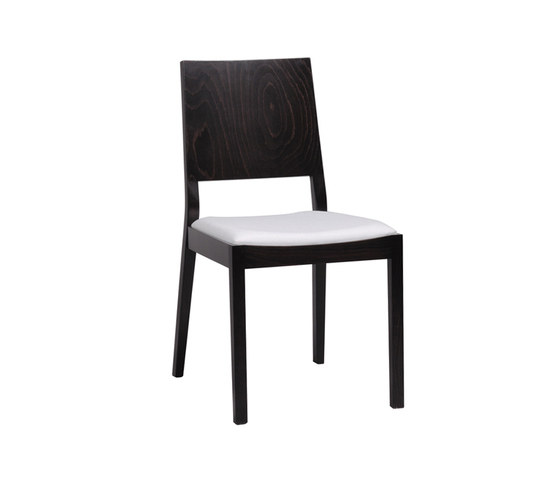 Lyon chair upholstered by TON | Visitors chairs / Side chairs