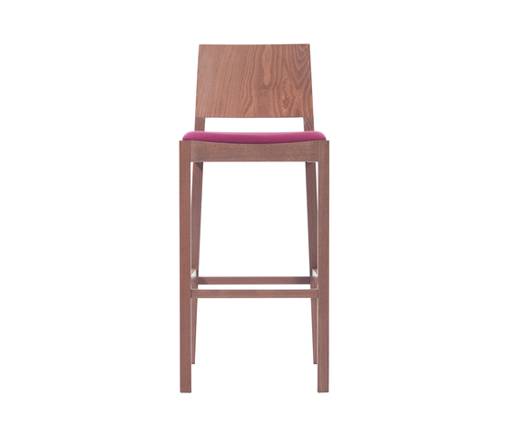 Lyon barstool upholstered by TON | Bar stools