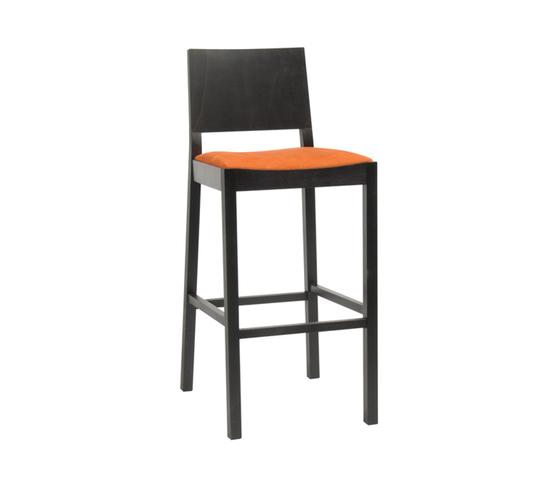 Lyon barstool upholstered by TON | Bar stools