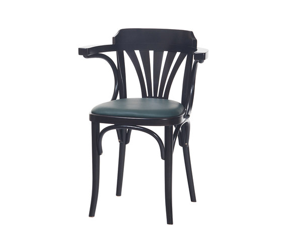 24 Chair upholstered by TON | Visitors chairs / Side chairs
