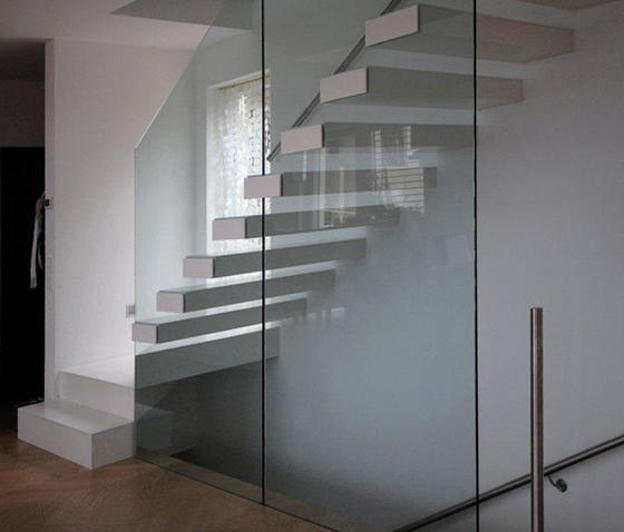 Europa by Siller Treppen | Glass stairs