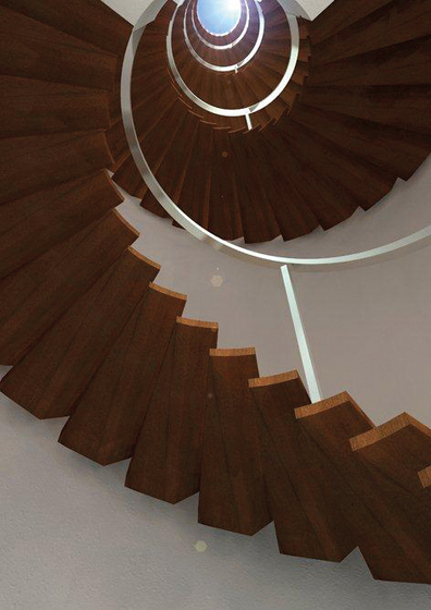Europa by Siller Treppen | Wood stairs
