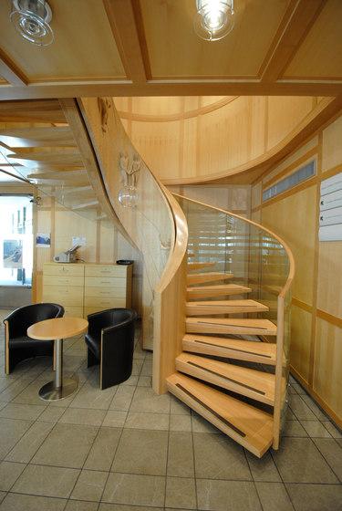 Europa Objekt von Siller Treppen | Holztreppen