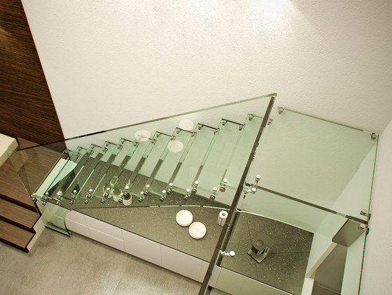 Mistral All glass by Siller Treppen | Glass stairs