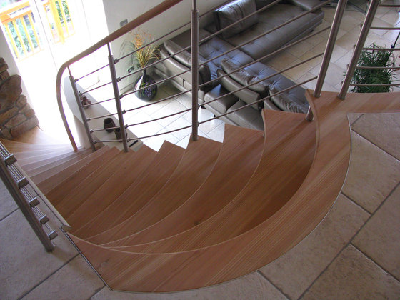 Sevilla light by Siller Treppen | Wood stairs