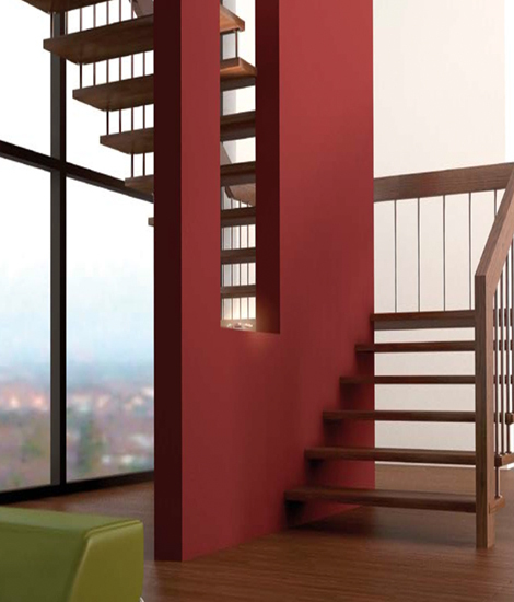 Sevilla by Siller Treppen | Wood stairs