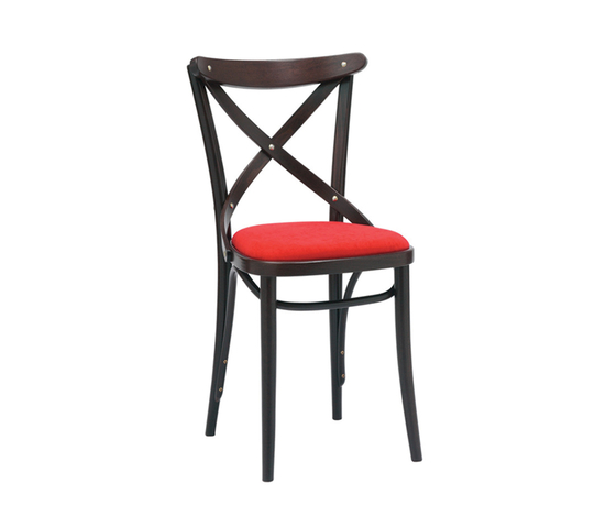 150 Chair upholstered de TON | Sillas para restaurantes