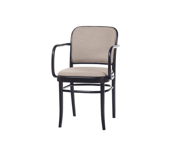 811 chair upholstered by TON | Restaurant chairs