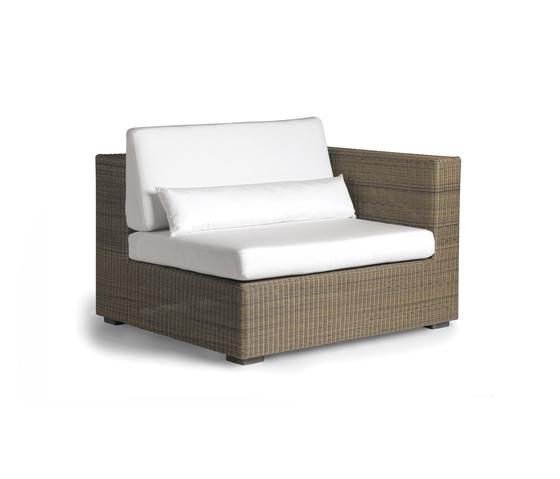 Aspen left seat by Manutti | Garden armchairs