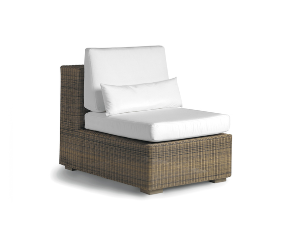 Aspen small middle seat by Manutti | Garden armchairs