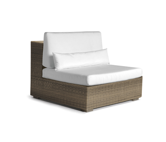 Aspen large middle seat by Manutti | Garden armchairs