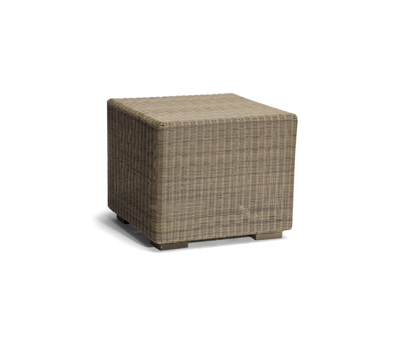 Aspen small footstool/sidetable by Manutti | Garden stools
