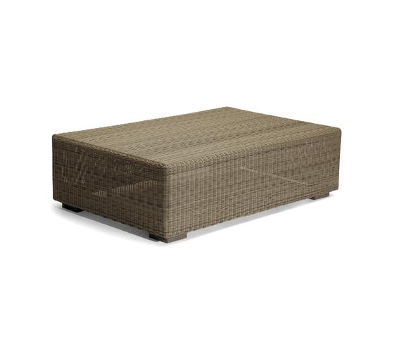 Aspen medium footstool/sidetable by Manutti | Garden stools