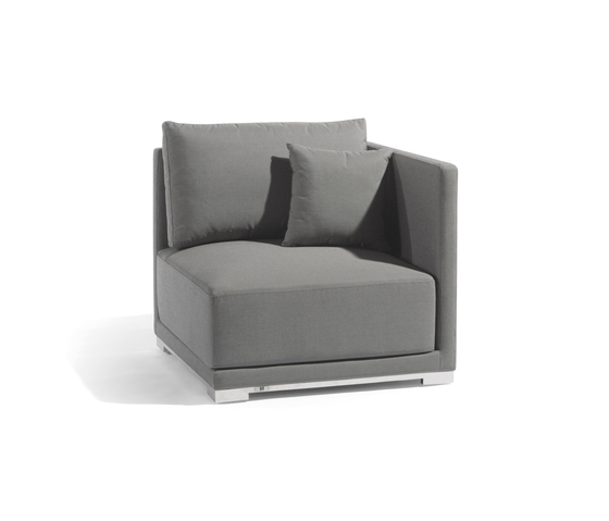 Flow left seat by Manutti | Garden armchairs
