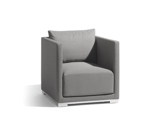 Flow 1 seat de Manutti | Fauteuils de jardin