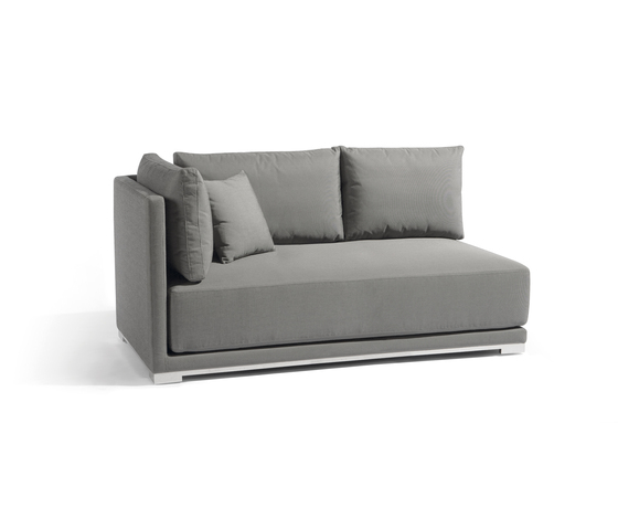 Flow right double seat by Manutti | Garden sofas