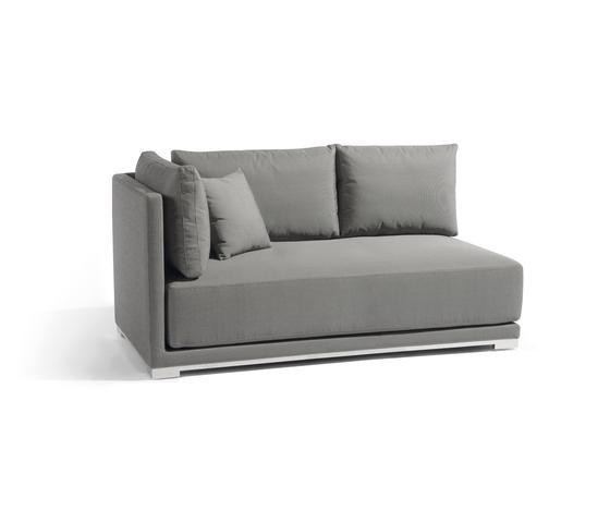 Flow right double seat de Manutti | Sofas de jardin