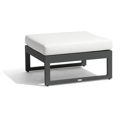 Fuse medium footstool/sidetable by Manutti | Garden stools