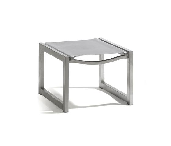 Latona textiles footstool/sidetable by Manutti | Garden stools