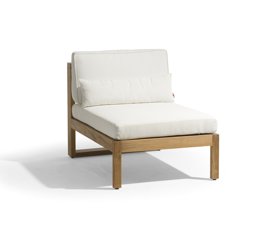 Siena lounge small middle seat by Manutti | Garden armchairs