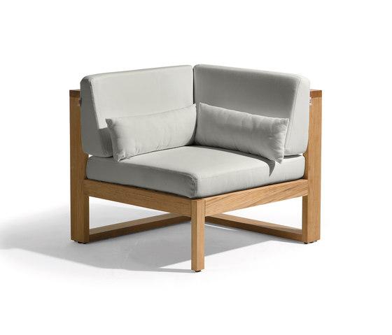 Siena lounge corner seat von Manutti | Sessel