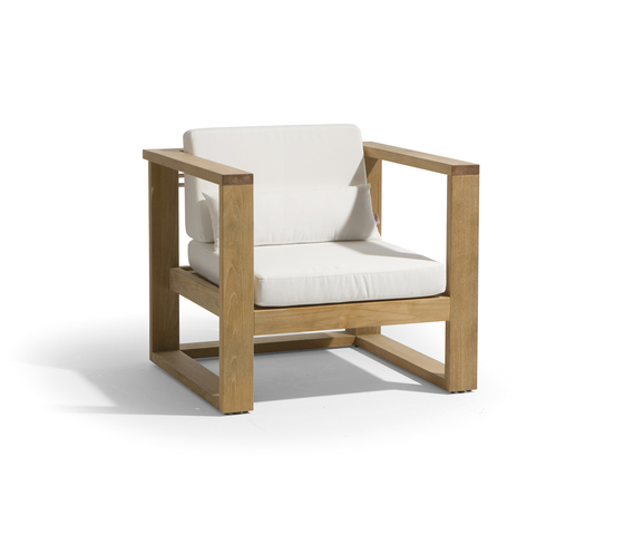 Siena lounge 1 seat by Manutti | Garden armchairs