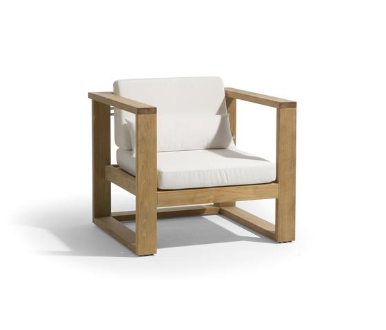 Siena lounge 1 seat de Manutti | Sillones de jardín