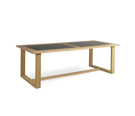 Siena rectangular dining table by Manutti | Dining tables