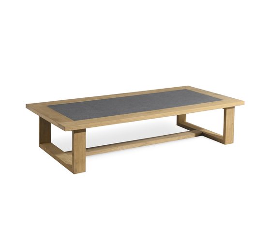 Siena rectangular coffee table de Manutti | Tables basses de jardin
