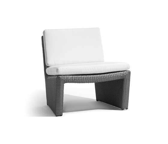 South beach 1 seat by Manutti | Garden armchairs
