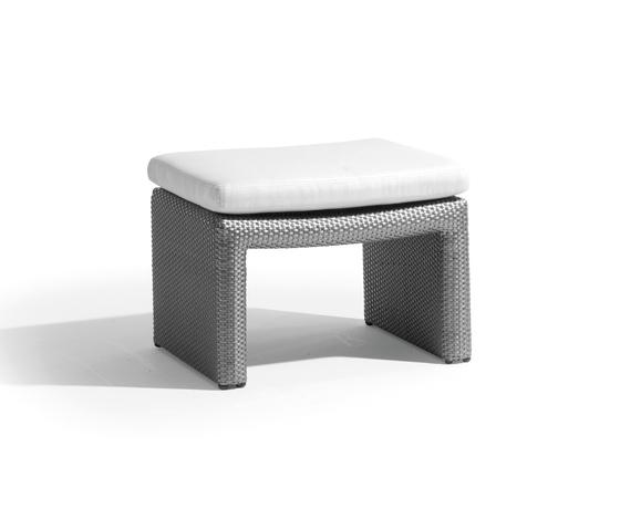South Beach footstool de Manutti | Tabourets de jardin