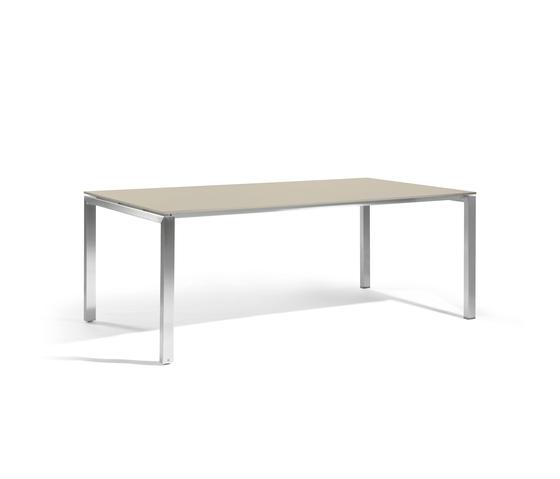 Trento rectangular dining table von Manutti | Garten-Esstische