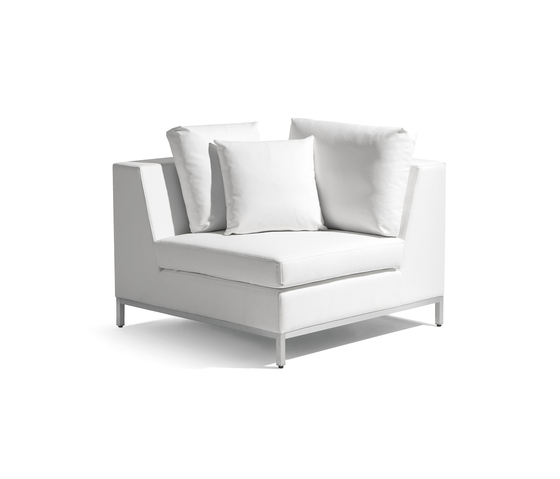 Zendo corner seat by Manutti | Modular seating elements