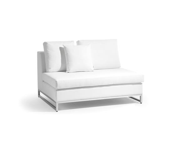 Zendo large middle seat di Manutti | Elementi di sedute componibili