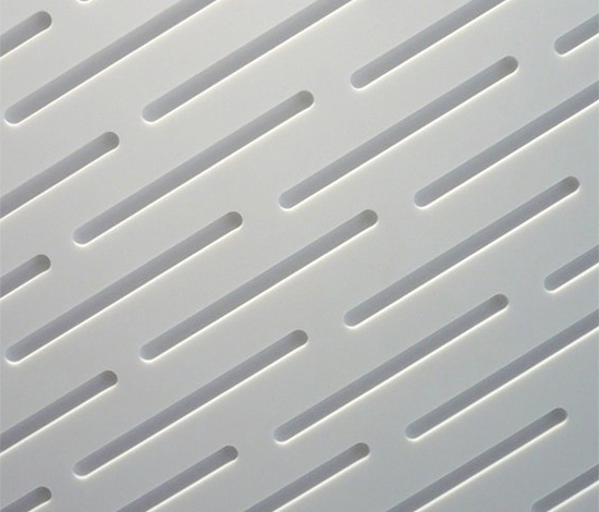 Rain wall panel by AMOS DESIGN | Mineral composite panels